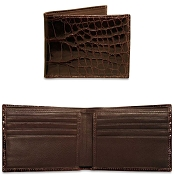 Jack Georges American Alligator Classic Wallet
