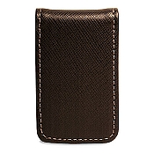 Jack Georges Prestige Leather Money Clip