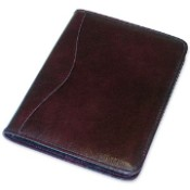 Jack Georges Sienna Leather Letter Size Writing Pad
