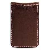 Jack Georges Sienna Leather Money Clip