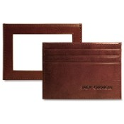 Jack Georges Sienna Leather Evening Wallet/Weekender