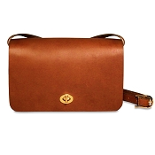 Jack Georges University #2646 Classic Full Flap Crossbody Handbag