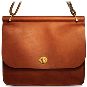 Jack Georges University #2648 Dowel Top Classic Handbag