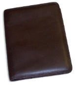 Jack Georges University Collection Letter Size Leather Writing Pad