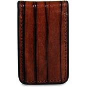 Jack Georges Monserrate Leather Money Clip