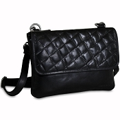 Jack Georges  Quilted Leather Wallet on a String #Q672