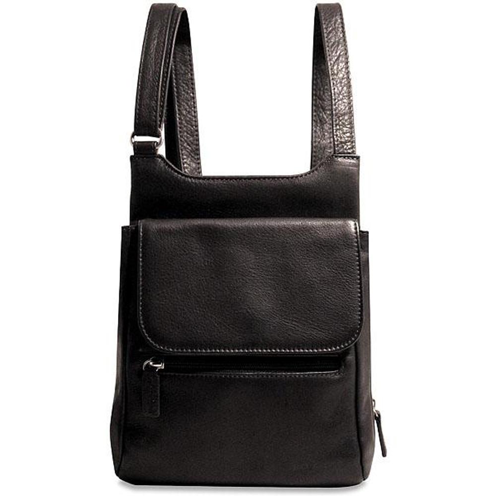 Jack Georges Soho Leather Slim Cross Body Bag 1831