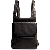 Jack Georges SOHO Leather Slim Cross Body Bag #1831