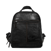 Jack Georges Voyager Mini Convertible Backpack/Crossbody #7132 - Black