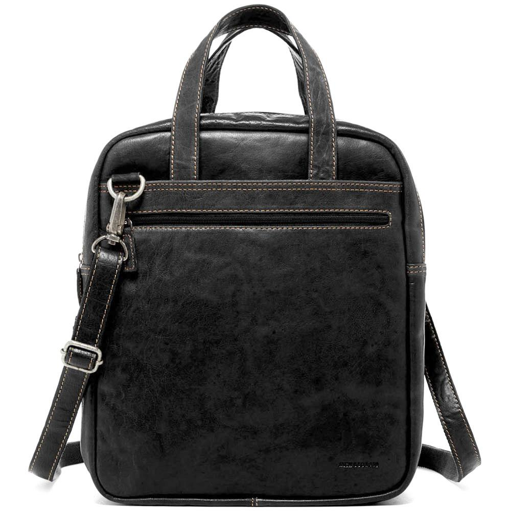 05bd510a5 Jack Georges Voyager Convertible Crossbody/Duffle Bag handmade in brown hand -stained buffalo leather. Add ...