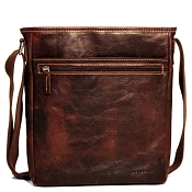 Jack Georges Voyager Leather Small Cross Body Bag #7251