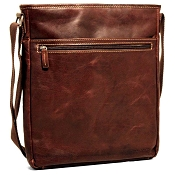 Jack Georges Voyager Leather Cross Body Bag #7252