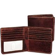 Jack Georges Voyager Leather Hipster Wallet #7303
