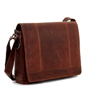 Jack Georges Voyager Leather Large Messenger Bag #7315