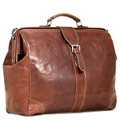 Jack Georges Voyager Leather Classic Doctor Bag #7575