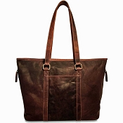 Jack Georges Voyager Leather Shopper Tote Bag #7803