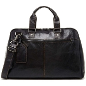 Jack Georges Voyager Leather Convertible Valet Bag #7540