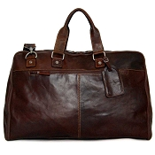 Jack Georges Voyager Leather Large Convertible Valet Bag #7550