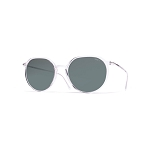 Helios 04931S Cal.49 Transparent Pantos Sunglasses - Grey Lens