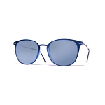 Helios 04932S Cal.50 Blue Rectangle Sunglasses - Blue Gradient Lens