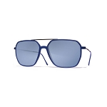 Helios 04936S Cal.57 Blue Rectangle Sunglasses - Blue Gradient Lens