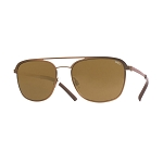 Helios 10656S Cal.53 Pantos Sunglasses - Bronze Metal - Brown Lens