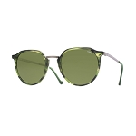 Helios 10670S Cal.49 Pantos Green Havana & Grey Sunglasses - Green Lens