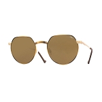 Helios 10677S Cal.50 Gold & Havana Sunglasses -  Brown Lens