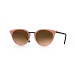 Helios 10672S Cal.51 Pink Cat Eye Sunglasses - Rose Gradient Lens