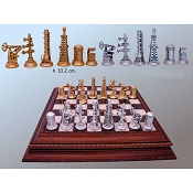 Oil History Chess Set - Version A