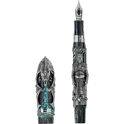 Montegrappa GoT Winter is Here Fountain Pen - Sterling Silver - Limited Edition