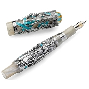 Montegrappa My Guardian Angel Fountain Pen - Sterling Silver