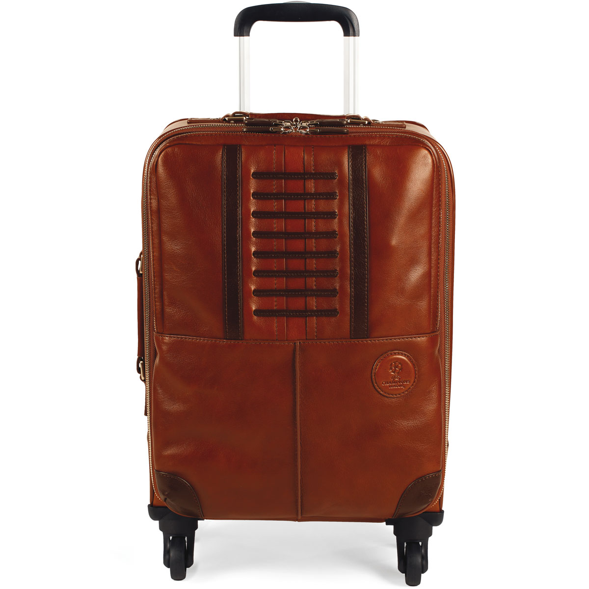 Montegrappa UEFA Champions League Leather Trolley Cabin Bag