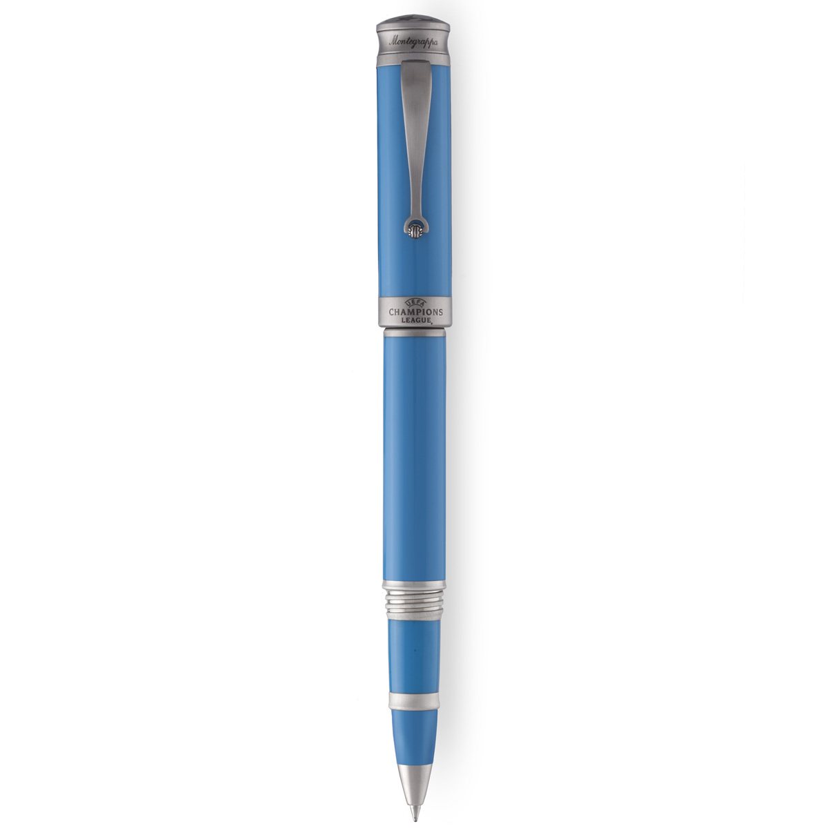Montegrappa UEFA Champions League Light Blue Rollerball Pen
