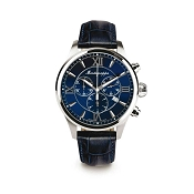 Montegrappa Fortuna Chronograph Watch - Blue Dial - IDFOWCDD