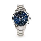 Montegrappa Fortuna Chrongraph Watch - Blue Dial - IDFOWCID