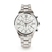 Montegrappa Fortuna Chrongraph Watch - Silver Dial - IDFOWCIJ