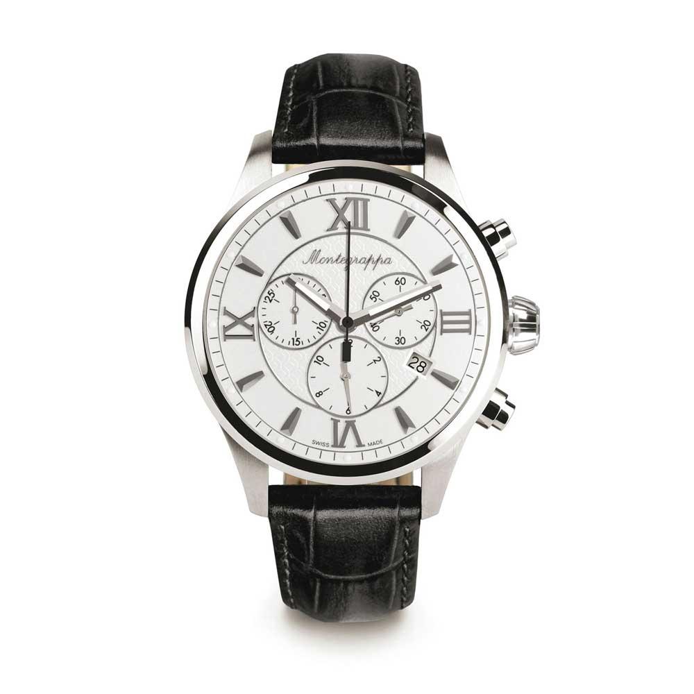Watch Silver Idfowclj Montegrappa Fortuna Chronograph Dial FK1lJc