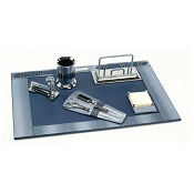 Paolo Guzzetta Deluxe Leather Desk Set - Horizon Pearlized Shagreen
