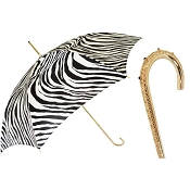 Pasotti Zebrine Print Animalier Women's Umbrella