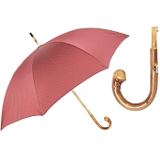 Pasotti Ombrelli Very Elegant Men's Umbrella - Chestnut Handle