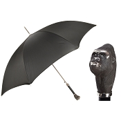Pasotti Ombrelli Black Men's Umbrella - King Kong Gorilla