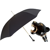 Pasotti Ombrelli Black Men's Umbrella - Black Panther