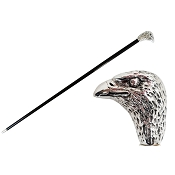 Pasotti Walking Cane - Silver Eagle Head