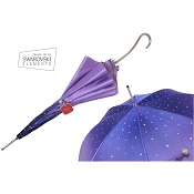 Pasotti Ombrelli Purple Swarovski® Luxury Women's Umbrella