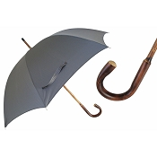 Pasotti Ombrelli Classic Solid Stick Chestnut Men's Umbrella