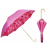 Pasotti Ombrelli Pink Rose Women's Umbrella