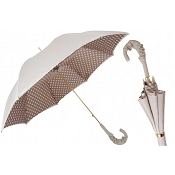 Pasotti Ivory with Dots Women's Umbrella