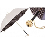 Pasotti Ivory Classic Colors Polka Dots Women's Umbrella