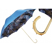 Pasotti Fantasy Blue Women's Umbrella